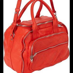 Alexander Wang Eugene Leather Coral Satchel Bag